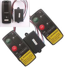 12V 50Ft Auto Wireless Console Winch Remote Control Car Manual Transmitter Button Console For Car Atv Suv Truck