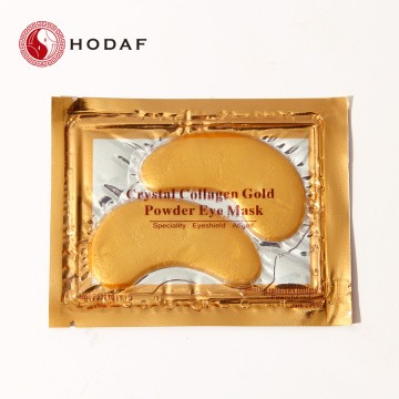 Private Label High Quality 24K Gold Collagen Eye Mask