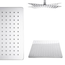 stainless steel shower head watermark