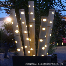 Night Yard Landscape Decorative LED Bamboo Lighting