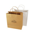 Custom Print Logo Packaging Paper Bag With Handle