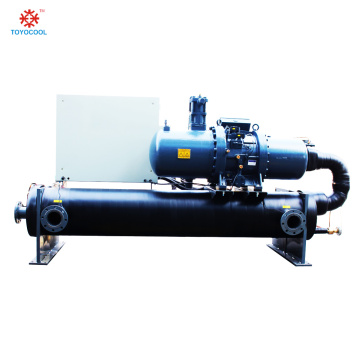 Industry chiller machines screw cooled water chiller