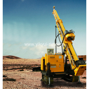 Portable grouting reinforcement tunnel drilling machine