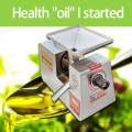 304 stainless steel 220V small automatic intelligent oil press sesame oil press peanut soybean oil squeezer rapeseed oil press