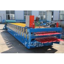High Speed Roofing Double Layer Roll Forming Machine