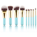 9PC Mini Travel Makeup Brush иж бүрдэл