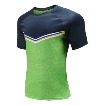 Customized Mens Dry Fit Rugby Wear T Shirt