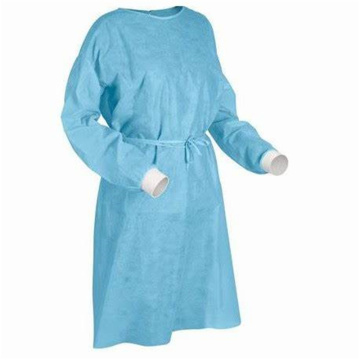 New Style Medcial Surgical Isolation Coverall Gown