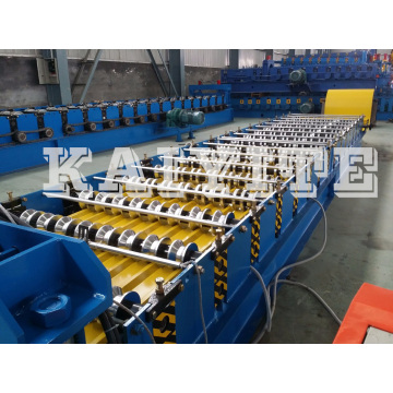 Automatic Metal Roofing Sheet Roll Forming Machine