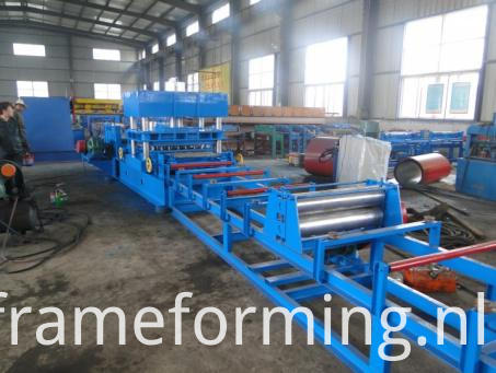 Trinity Highway Guardrail Making Machine