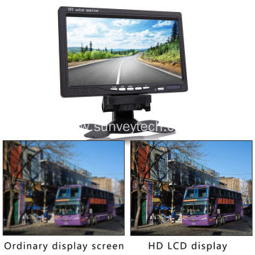 Quad View Backup Monitor for Truck