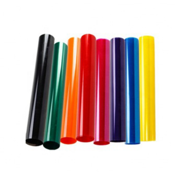 Colorful Translucent Packaging HIPS Rigid Film Rolls