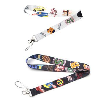 Cute cartoon keychain Accessory Safety Breakaway Mobile Phone USB ID Badge Holder Straps Tag Neck lanyard Camera E0510
