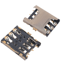 SIM Card 6Pin With/Without Switch Pin Connector
