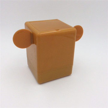 desktop garbage can plastic box with lid