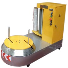 airport luggage wrapping machine baggage packing machine