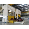 Mould spotting hydraulic press
