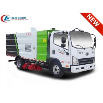 New FAW 5cbm road sweeper truck for sale