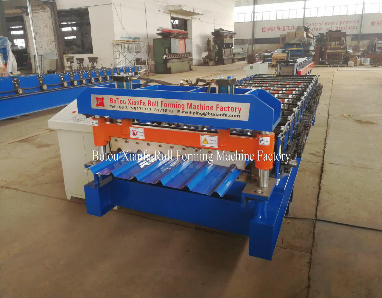 roof tile manufacturing making machine