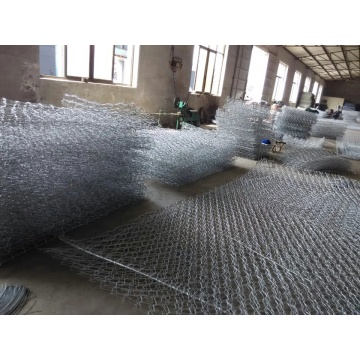 galfan coated wire mesh fence high quality gabion box