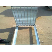 galvanized steel grating for water well cover
