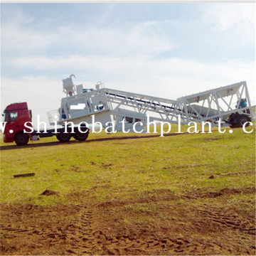 75  Wet Concrete Batching Plant Of Portable
