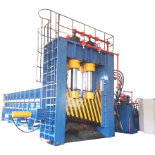 Heavy-Duty Scrap Steel Metal Gantry Shear with Pusher
