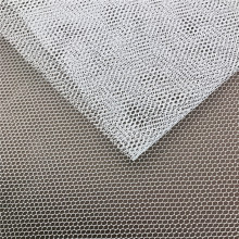100% Polyester Hexagonal Tulle Mesh for Decoration