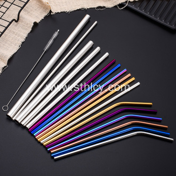 Reusable Stainless Steel Straws With Customized