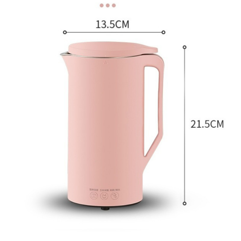 Mini Soybean Milk Machine Convenient Household Filter Free and Slag Free Automatic Heating 220V juicer