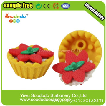 Fancy Food Eraser Egg Tart Shaped Eraser