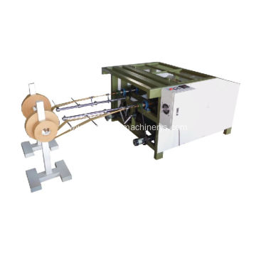 twins head twisted paper rope making machine