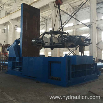 Heavy-duty Scrap Car Shell Frame Industrial Baler
