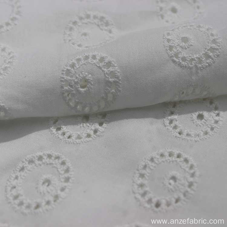 High Quality Cotton Lace Embroidery Fabric