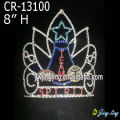 New style Glitz Pageant Crowns Guitar Shape