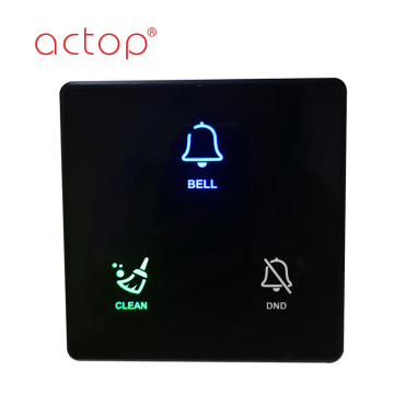 smart hotel digital door plate