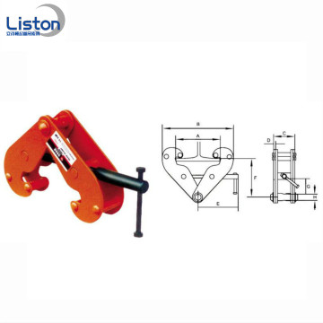DSQ model 10 Ton Vertical Lifting Clamps