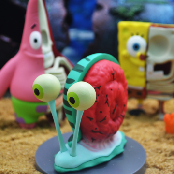 Anatomical Spongebob SquarePants Blind Box Toys Series 4