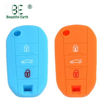 Silicone Key Cover For Peugeot