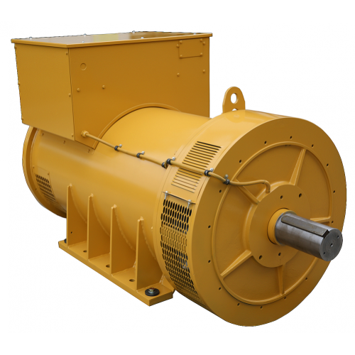 Marine Lower Voltage Alternator With Auxiliary Winding