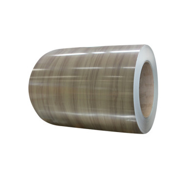 Wooden texture pre finished aluminum coil