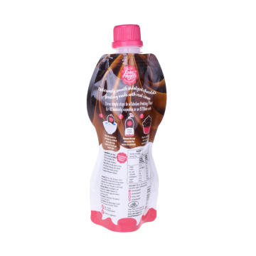Printed Liquid Drinking Juice Doypack Spout Pouches