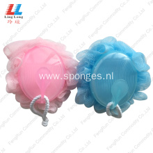 newest shower mesh body exfoliator loofah sponge