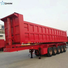 20Wheel Hydraulic Dump Sugar Cane Transport Trailer