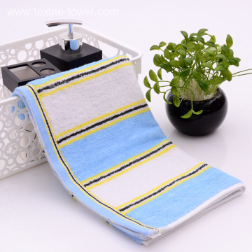 Comfortable Towels On Sale With Vertical Stripe Pattern