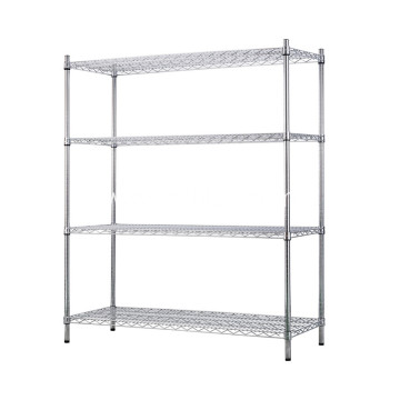 Stainless Steel Grid Storage Rack Multilayer