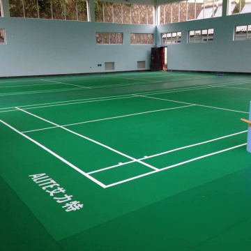 Enlio vinyl badminton court sports floor with BWF