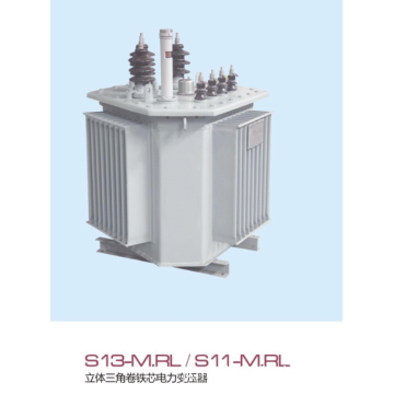 S13-m.rl/s11-m.rl three-dimensional triangle coil core power transformer