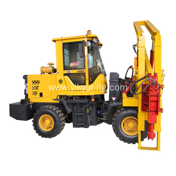 Solar station install drilling machine screw pile driver
