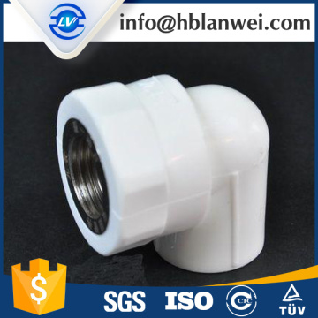 FEMALE THREADED PLASTIC TEE PPR PIPE FITTINGS